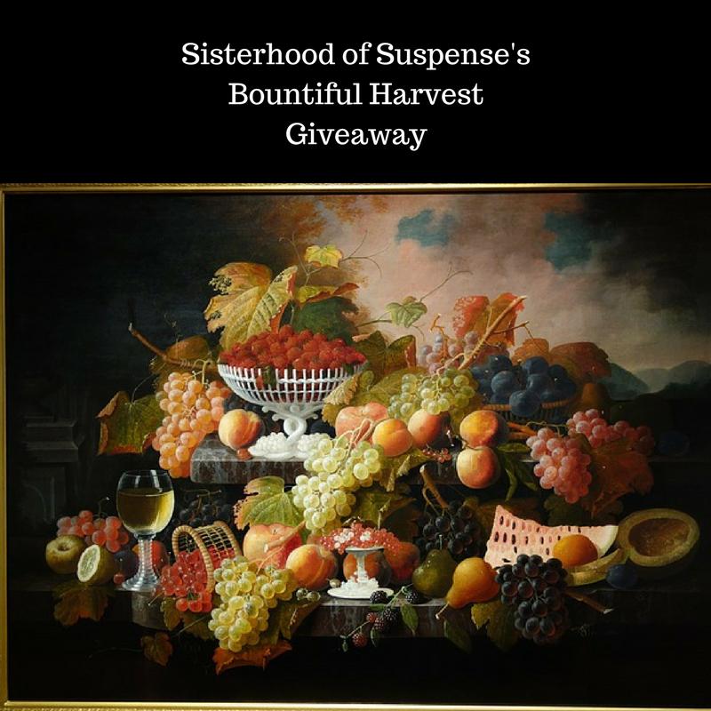 Sisterhood of suspense'sBountiful HarvestGiveaway