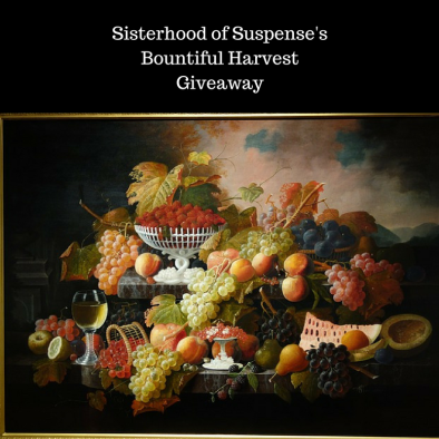 Sisterhood of suspense'sBountiful HarvestGiveaway