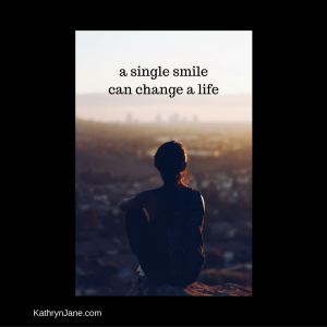 canva - a single smile can change a life