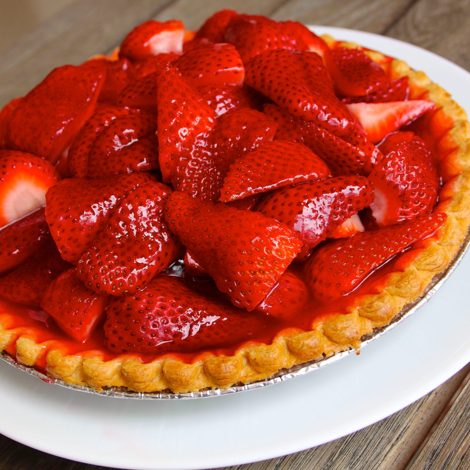 ONE DARK WISH and a Recipe for Strawberry Pie