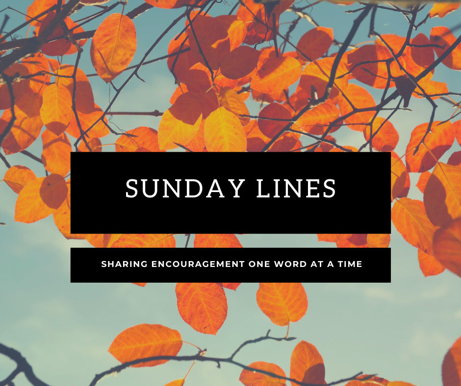 Sunday Lines: Sunday, October 11